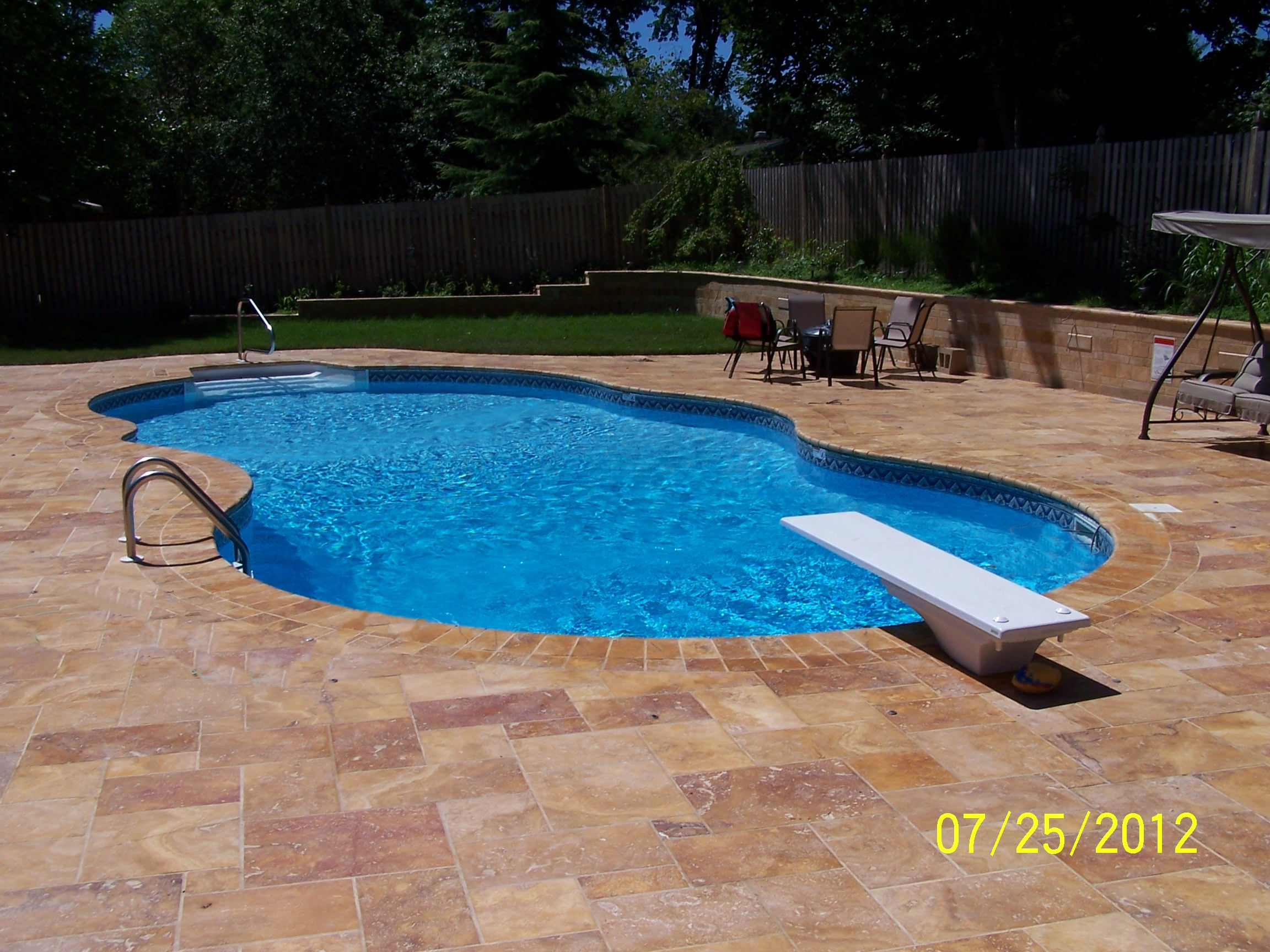 We Install Built In Vinyl Liner Inground Pools Only No Above Ground